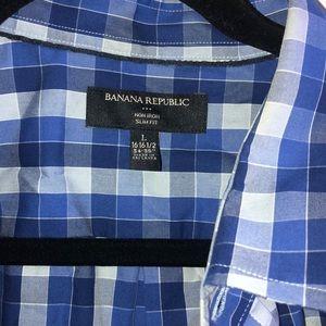 Men's Banana Republic Dress Shirt L